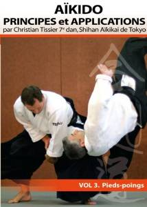 Jaquette de Aikido Principes et Applications Vol.3 Pieds-poings